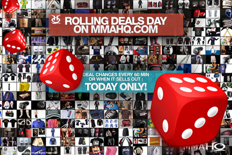 MMAHQ Rolling Deals TODAY! 