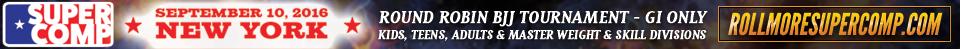 RollMore SuperComp - Jiu Jitsu Tournament 9/10/16 NY
